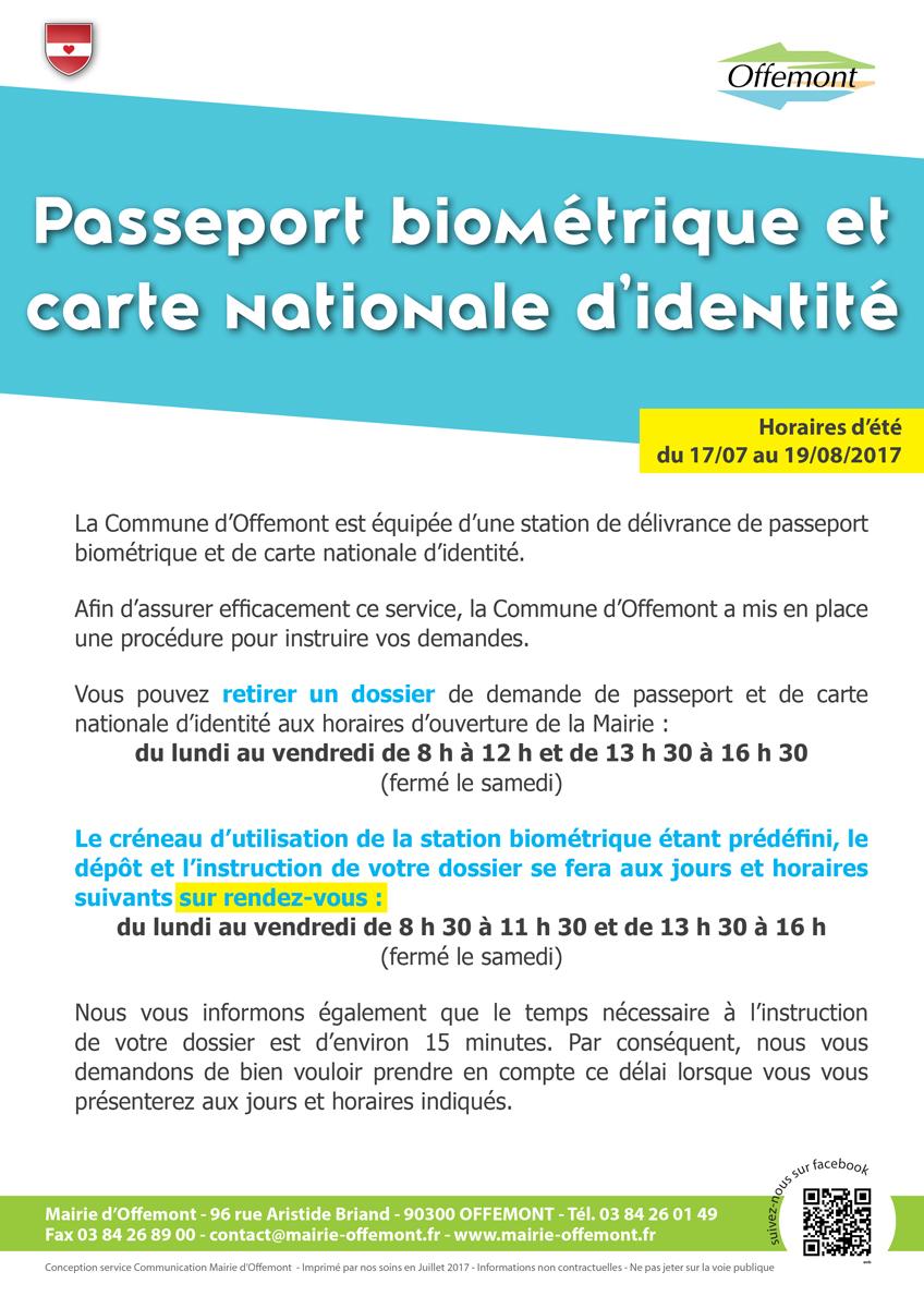 justificatifs pour passeport